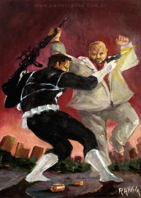 Punisher Vs Kingpin