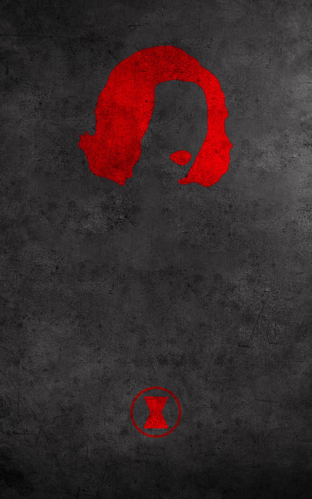 Black Widow Minimalist by Alyrah-Sabre on DeviantArt