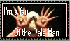 Pale Man Stamp by Cheetana