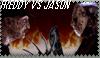Freddy vs. Jason stamp by Cheetana