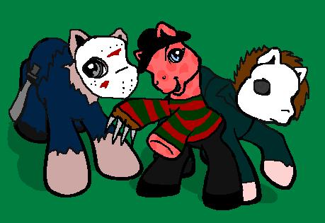Freddy vs. Jason vs. Michael by Cheetana