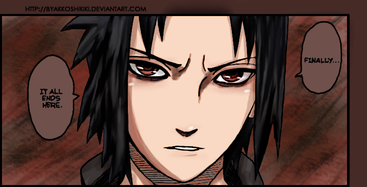 Angry Sasuke by ByakkoShikiki on DeviantArt
