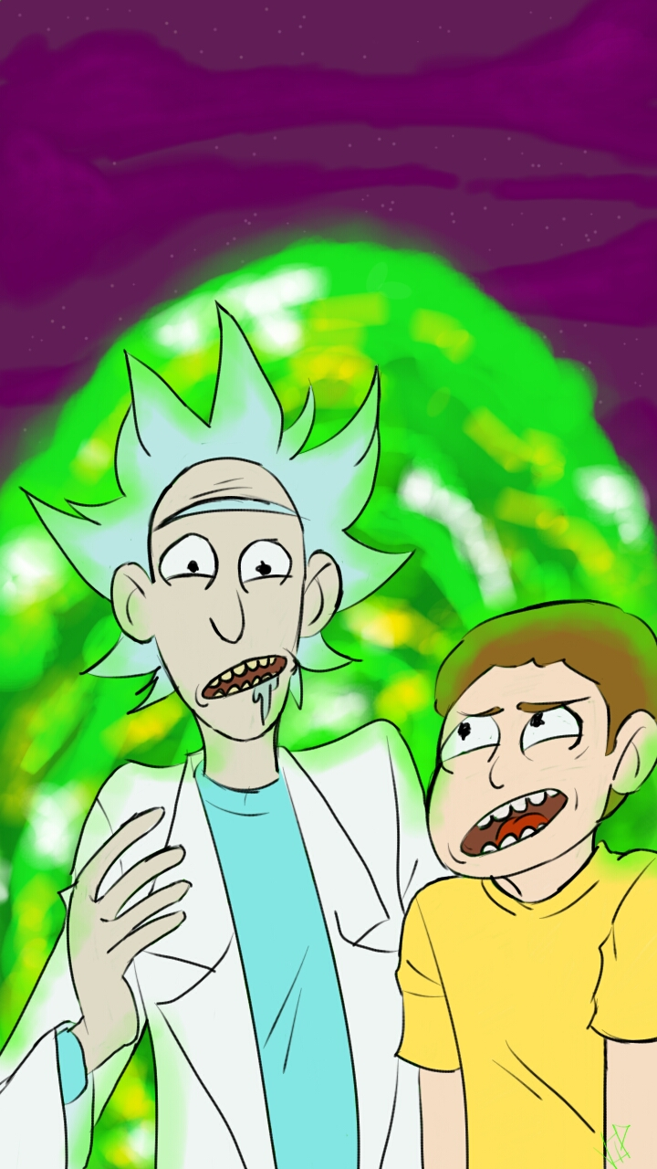 Rick And Morty Empty Living Room
