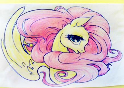 Fluttershy style 2 by pandan009