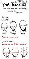 teaching - Face or head by LotusMartus
