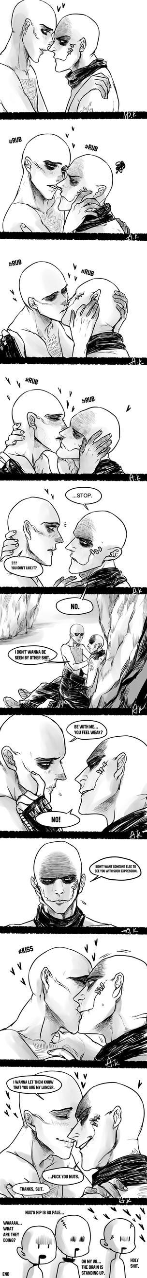 doodle comic - sux by LotusMartus