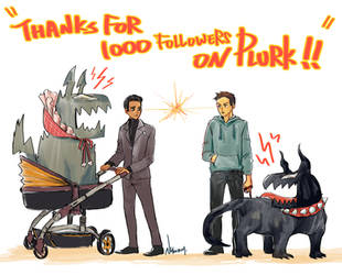Venom - Thanks for 1000 followers by LotusMartus