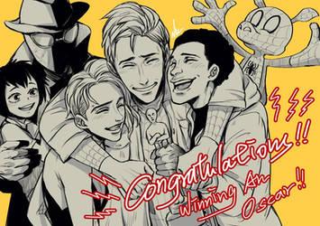 Congrats to Spider Verse!!! by LotusMartus