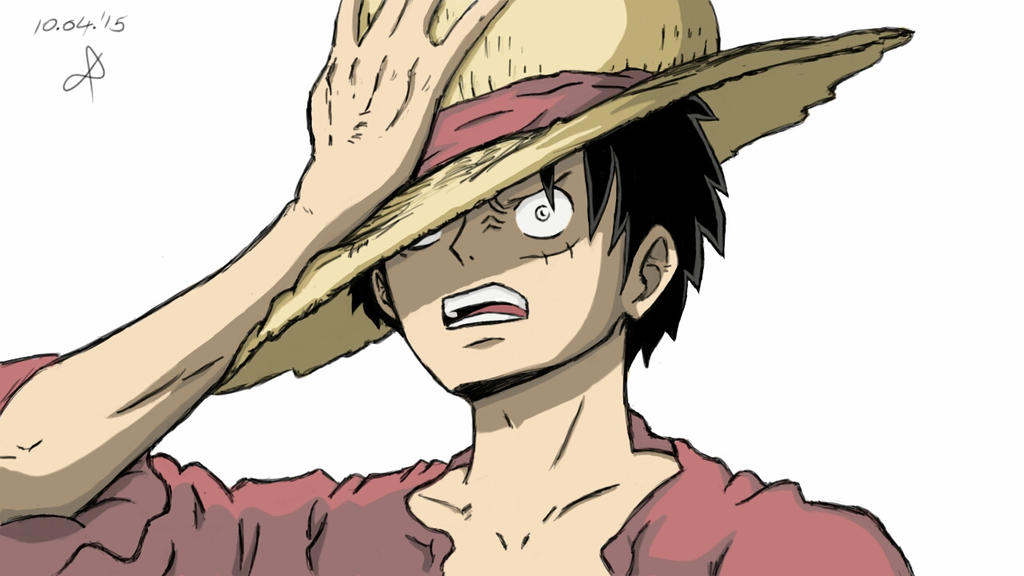 Luffy Angry Face By Willofdaniel On Deviantart