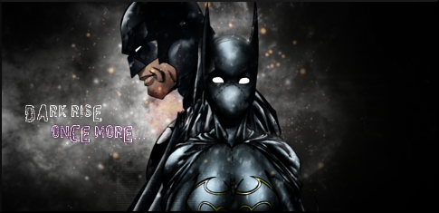 Dark Rise Once More. - Batman And Batgirl SIGN by Silas-Tsunayoshi