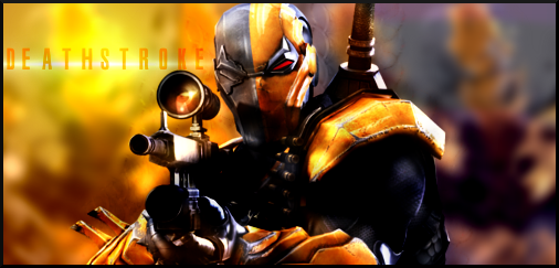 Deathstroke SIGN by Silas-Tsunayoshi on DeviantArt