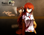 Steins Gate: Makise Kurisu - WALLPAPER