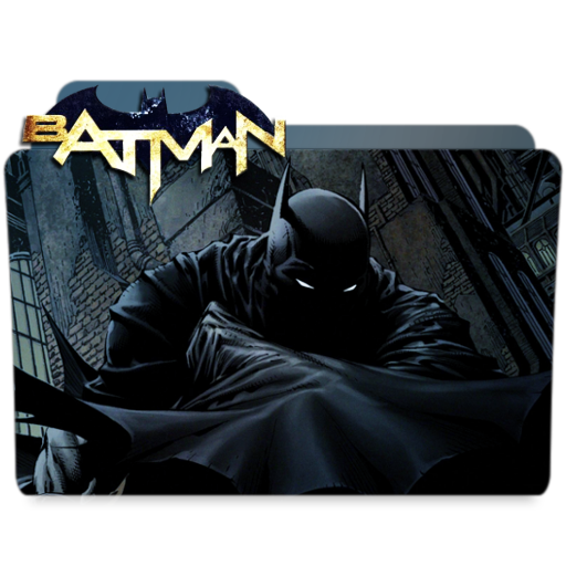 Batman - FOLDER ICON by Silas-Tsunayoshi