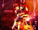 Kill la Kill: Ryuko and Mako - WALLPAPER