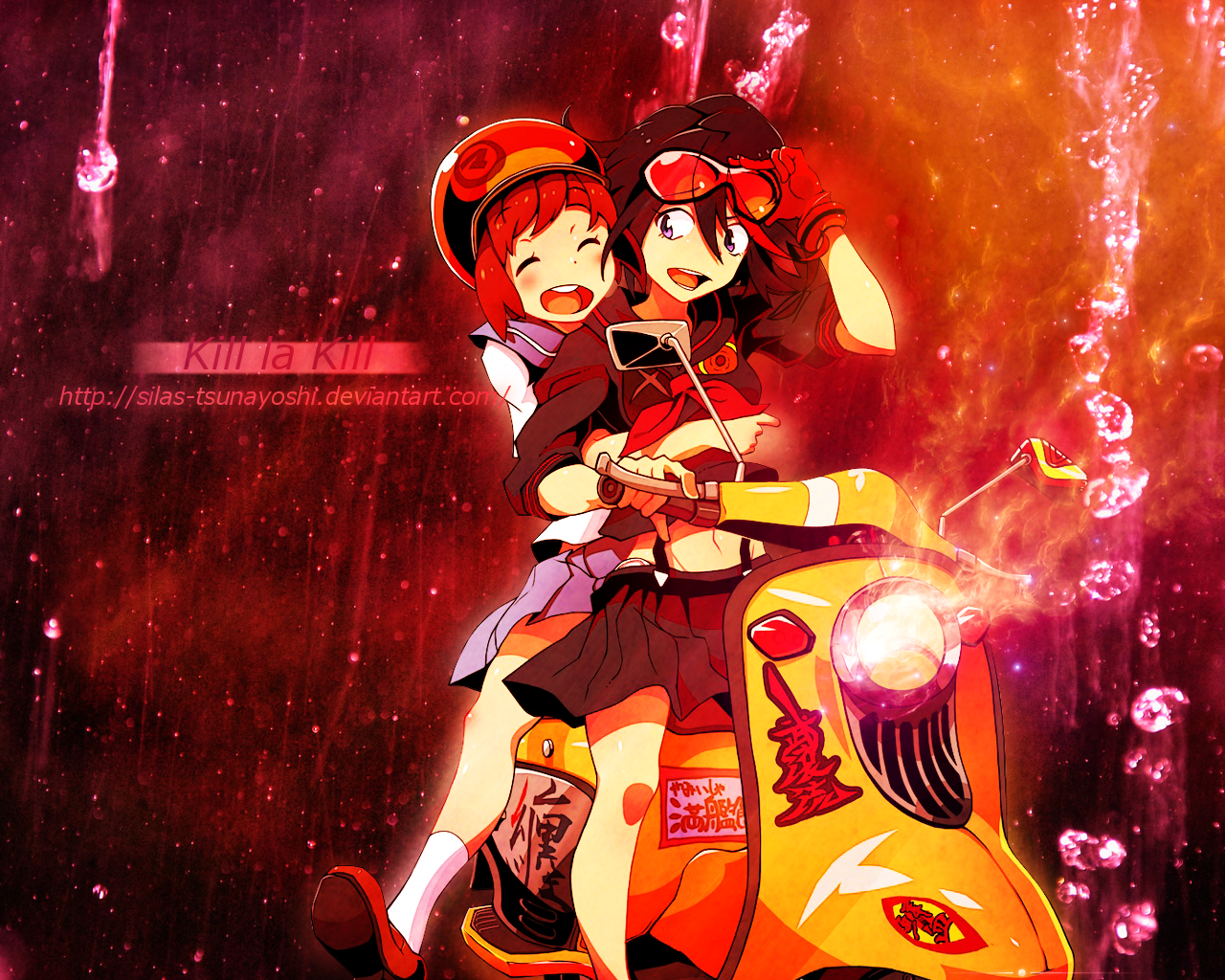 Kill La Kill Ryuko And Mako Wallpaper By Silas Tsunayoshi On