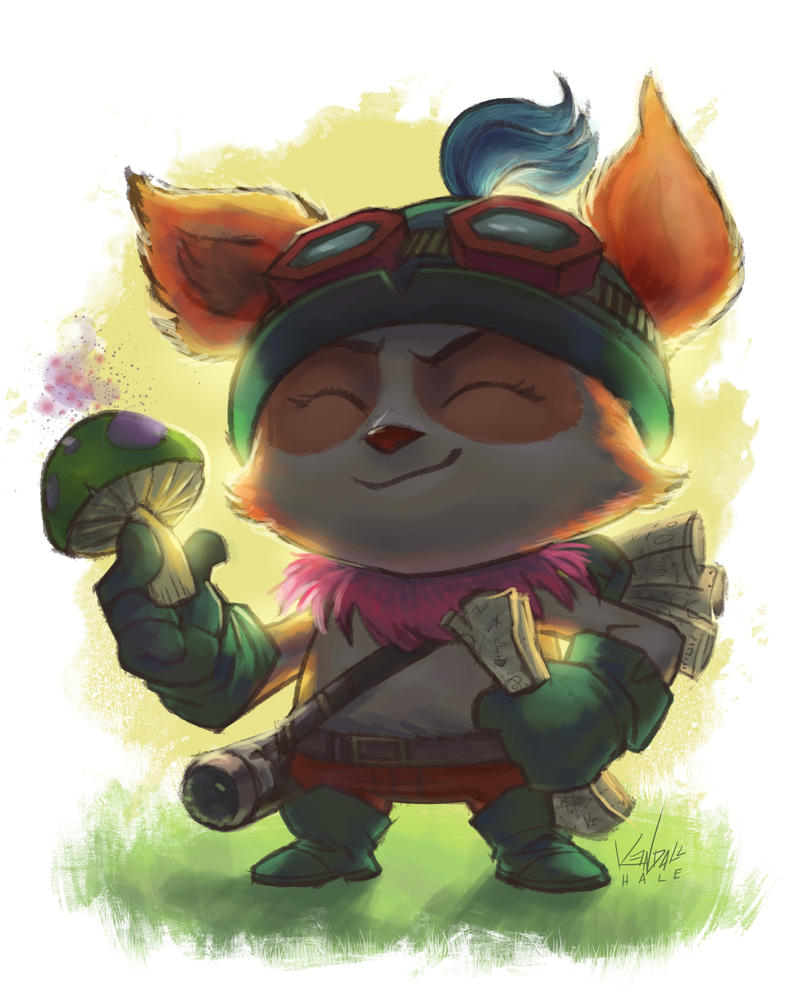 Teemo by StarvingStudents
