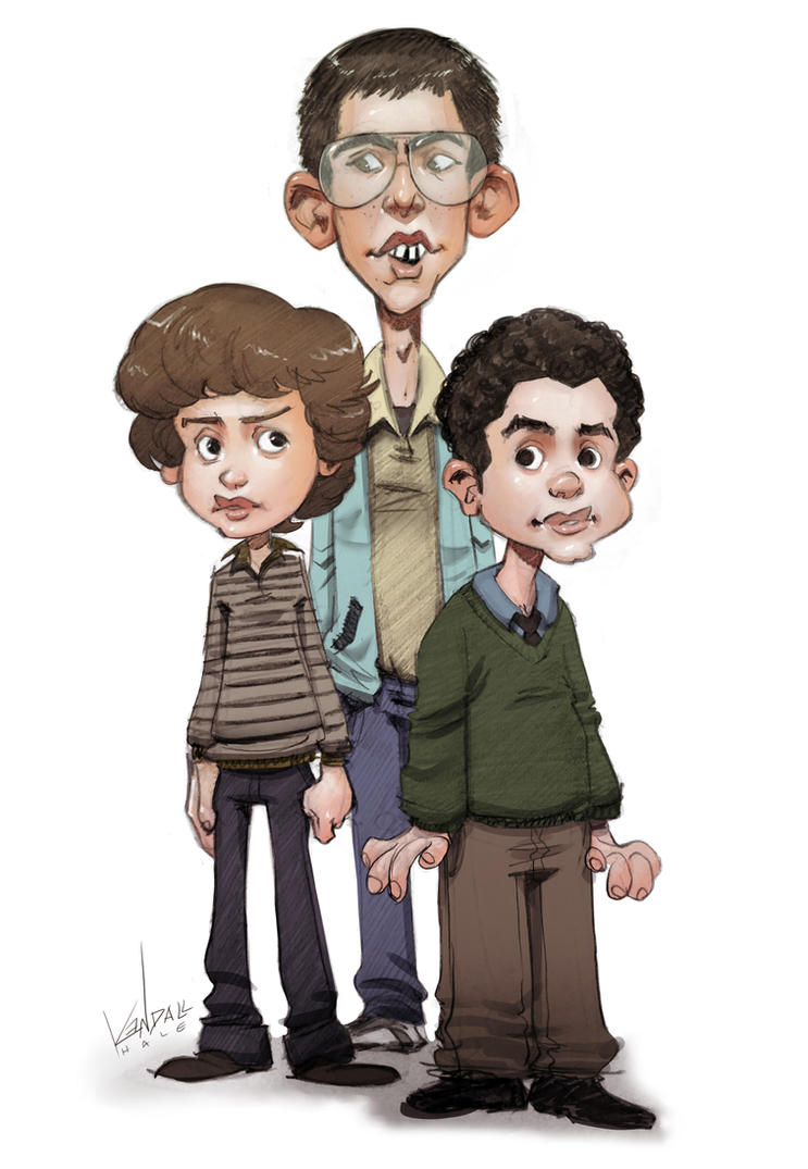 Sam, Neal and Bill by StarvingStudents