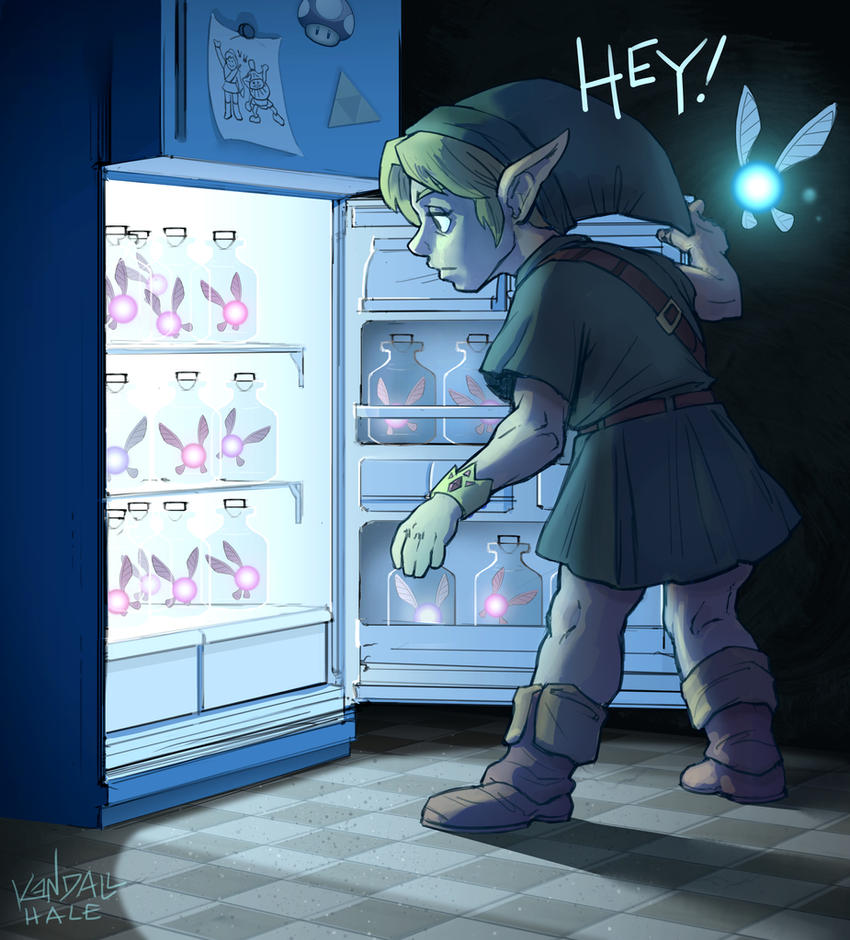Legend of Zelda: Midnight Munchies by StarvingStudents