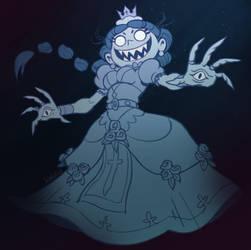 Spooky ghost queen