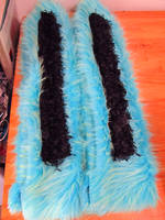 neon bunny ears half done by LDOriginals