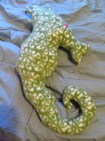Rutherford The Snuggly Seahorse by LDOriginals