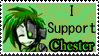 I support Chester... by ClockworkWasteland