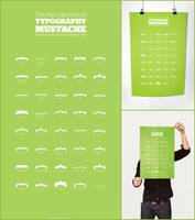 Typography Mustache by MathieuOdin