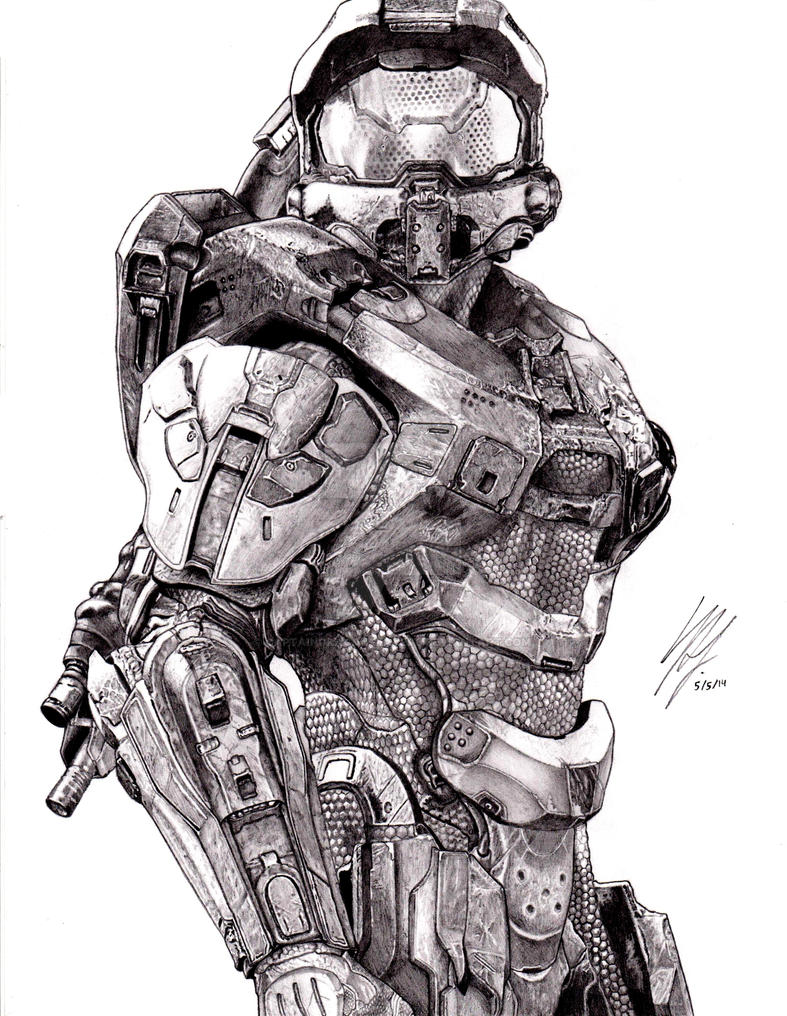Halo 4 Master Chief By CaptainDragonSlayer6 On DeviantArt