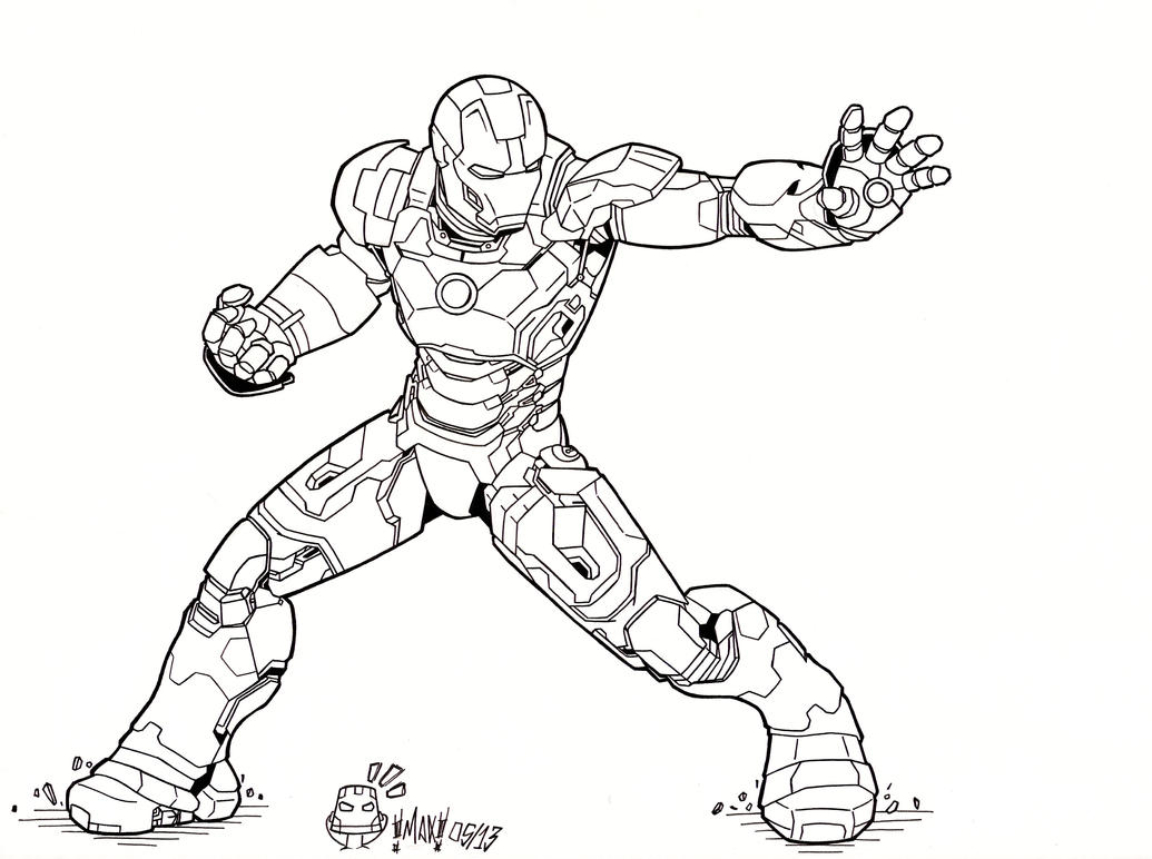 Iron Man 3 Mark XLVII By MAXanimes