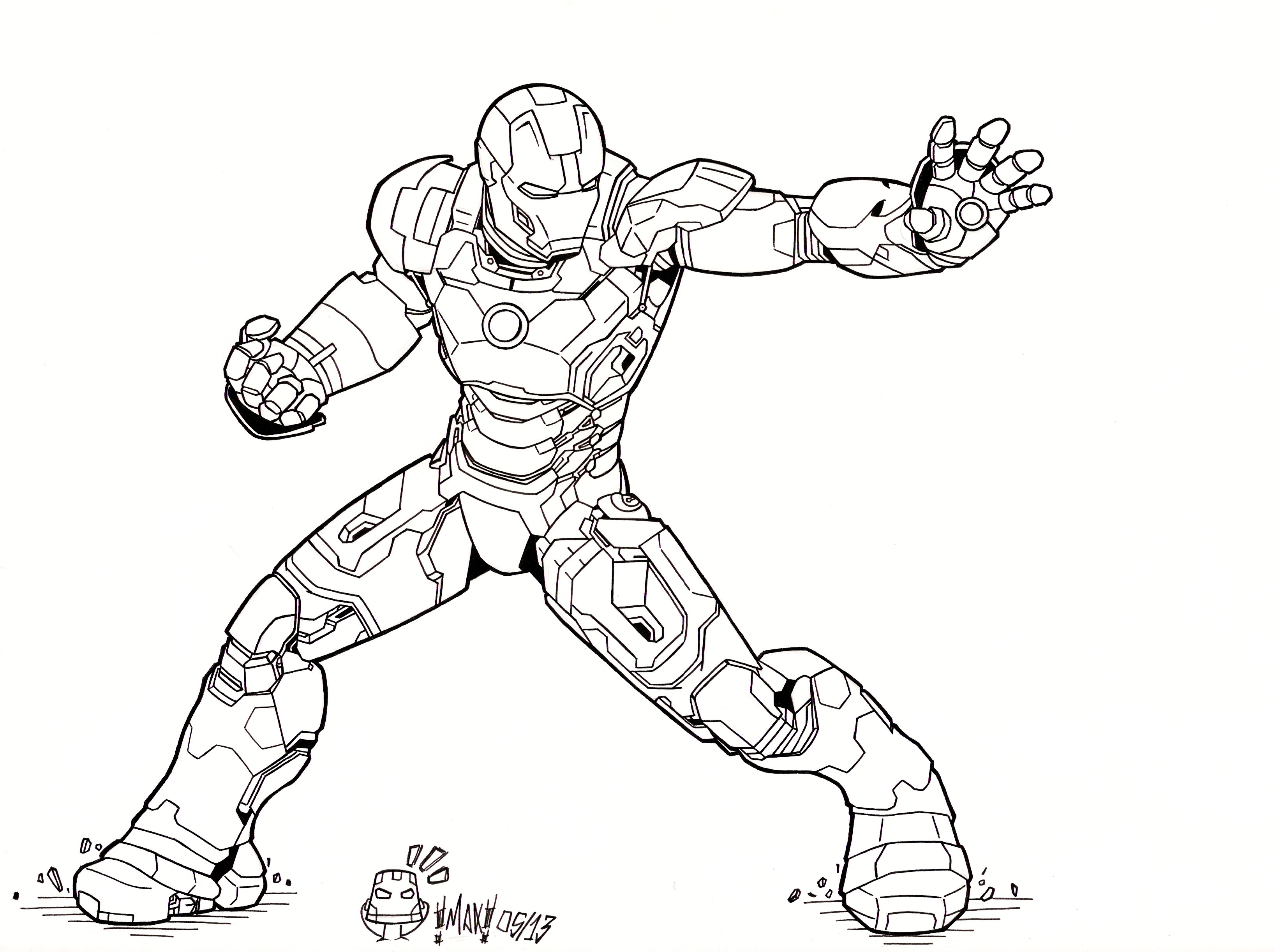 Iron Man 3 Mark XLVII By MAXanimes On DeviantArt
