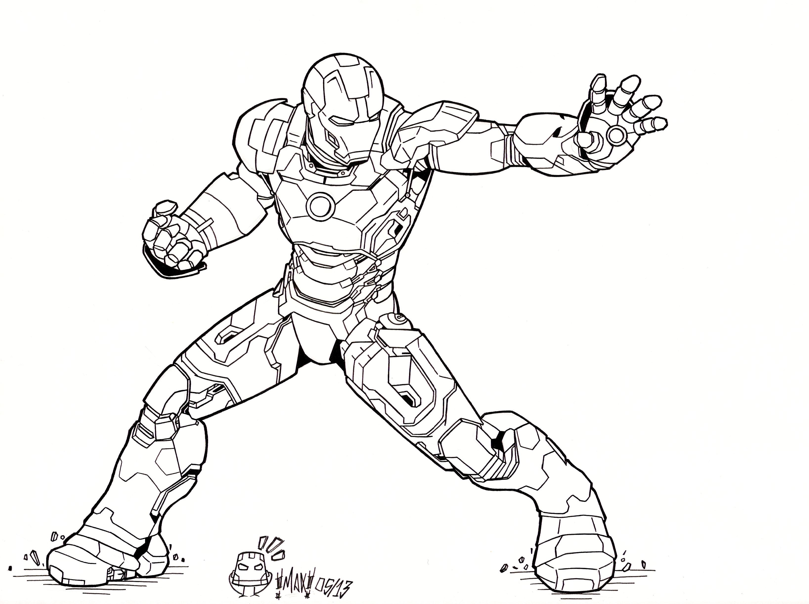 Iron Man 3 Mark Xlvii By Maxanimes On Deviantart