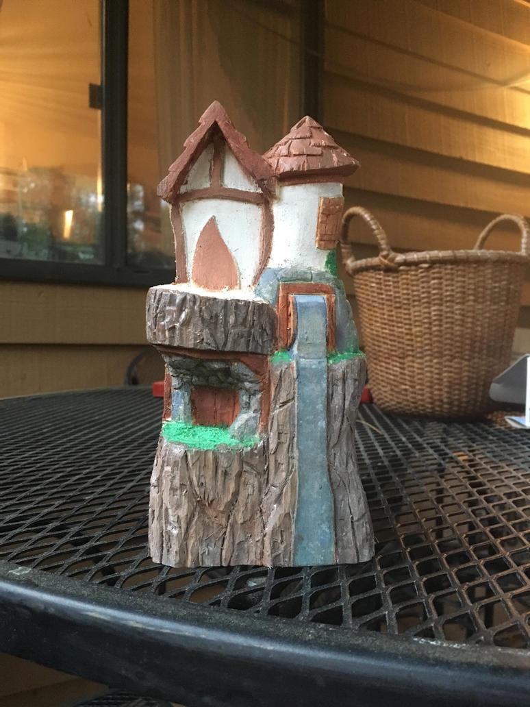 Fairy house  by CarvingConsugar