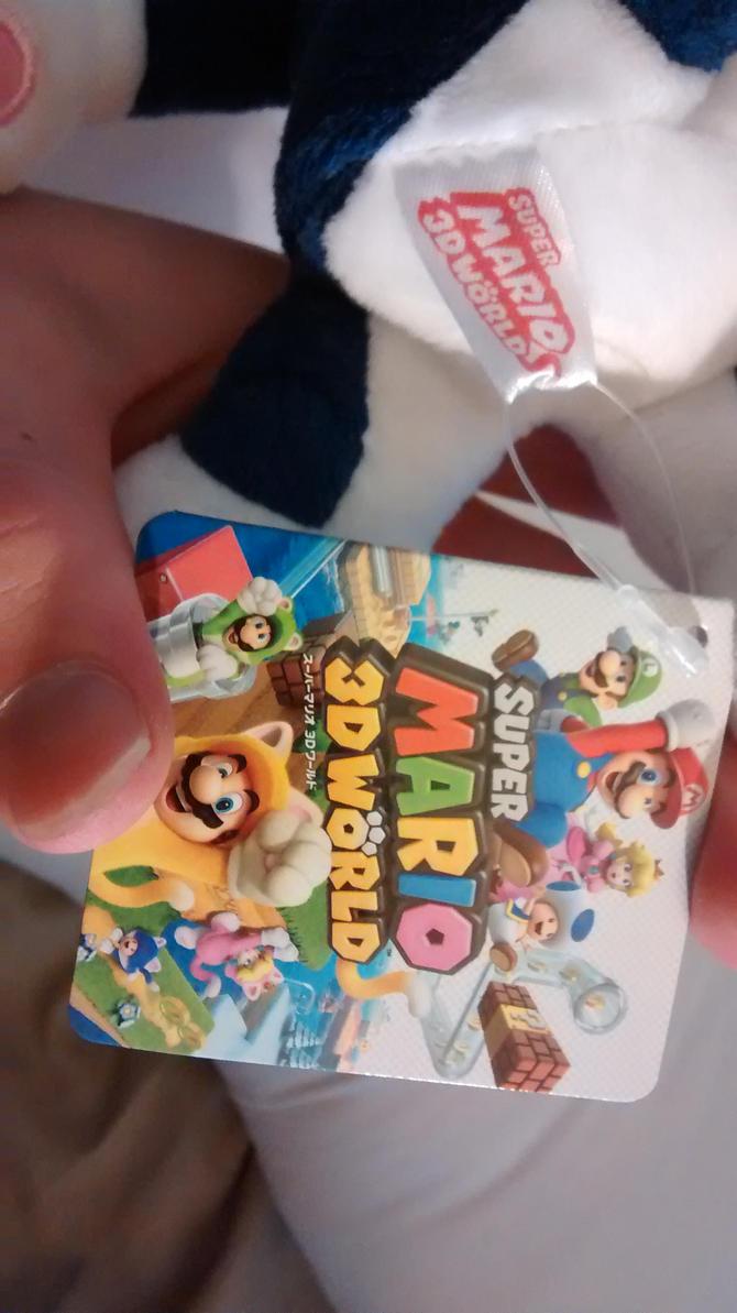 Super Mario 3D World Tag Cat Rosalina by BansheeTK