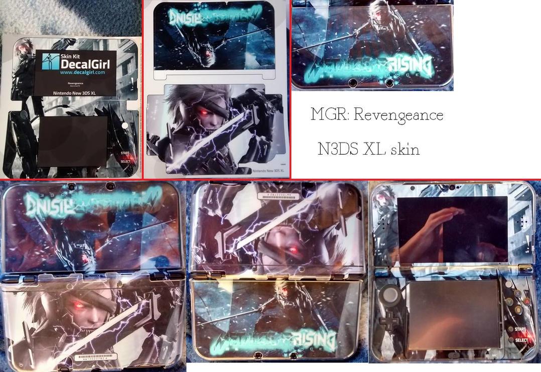 MGR: Revengeance N3DS XL skin by BansheeTK