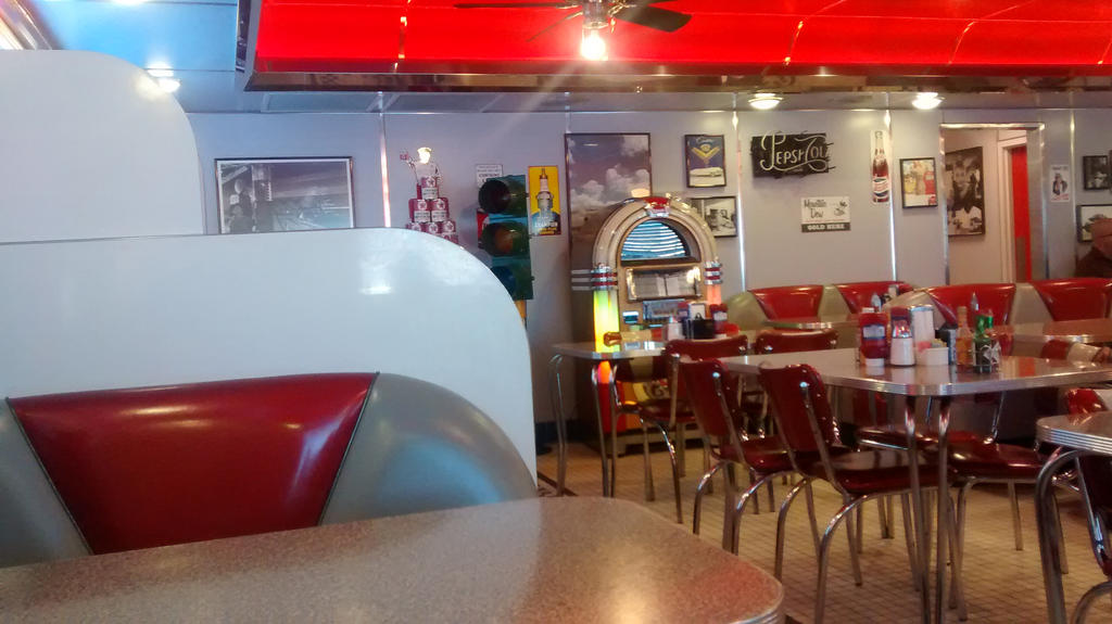 Thanksgiving Trip: Dixies Diner 6-12 by BansheeTK