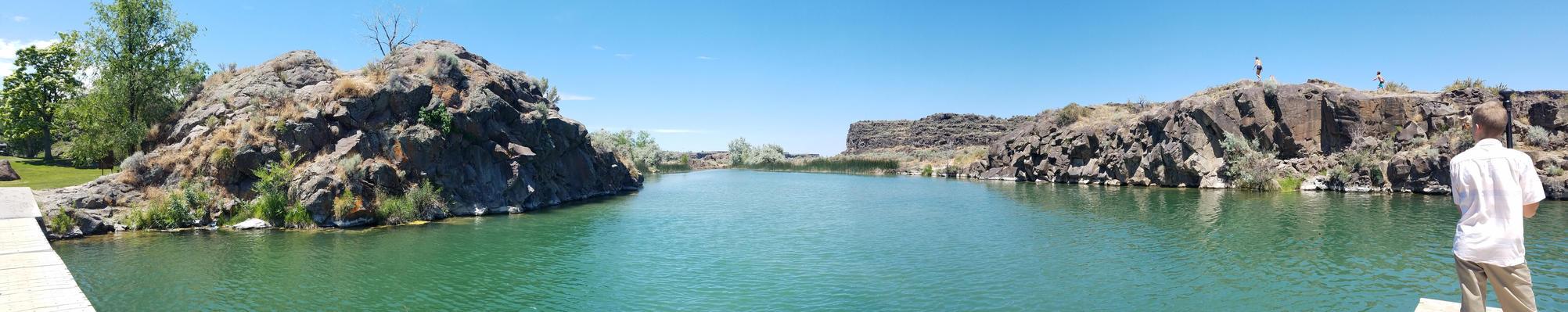 Shoshone River by BansheeTK