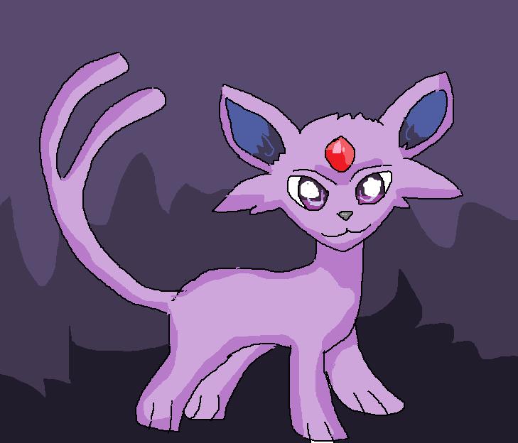 Espeon Pokemon by Stanvee