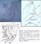 Drawing Tips: Dragon side-view