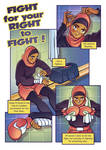 Fight 4 ur right 2 fight Page1 by Popgrafix