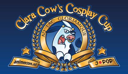 Clara Cow's Cosplay Cup Logo by Popgrafix