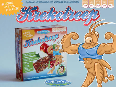 Krekelreep Mascot Design