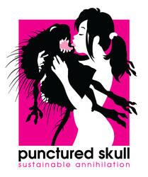 PuncturedSkull by Popgrafix