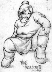 Big girl by Popgrafix
