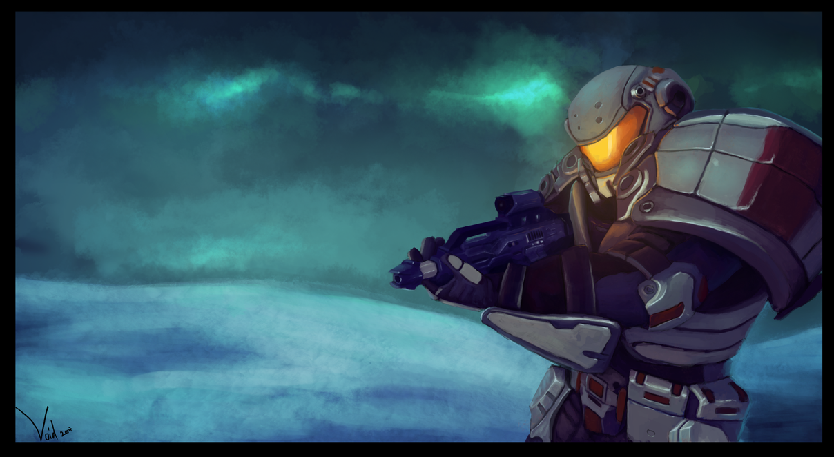 Tribes: Ascend Raider Mercenary by Voidspawnie