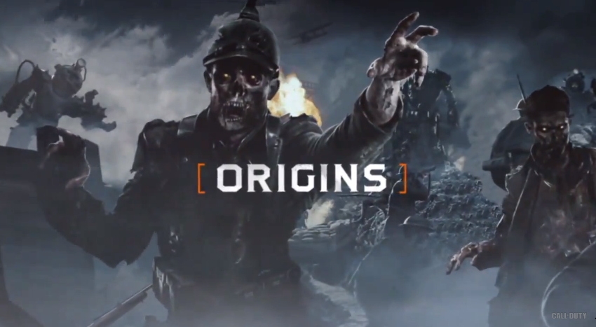 Origins Promotional Poster  New BO2 Zombies Map  by vampiresrock17Origins Zombies Poster
