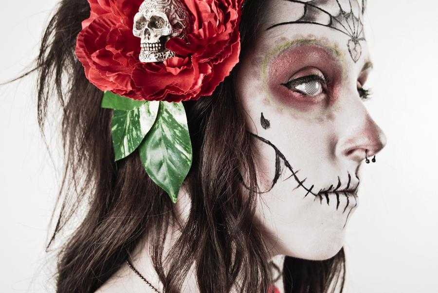 Sugar Skull. by yellowette