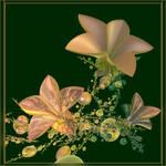 flowers by GLO-HE