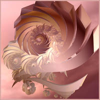 spiral Rosette by GLO-HE