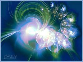 glittering in lights by GLO-HE