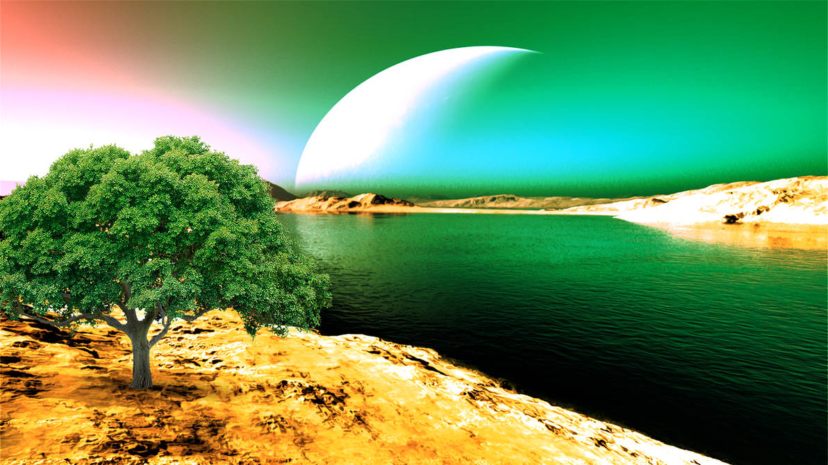 A poetic landscapeftig by GLO-HE
